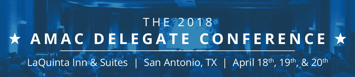 2018 AMAC Delegate Conference