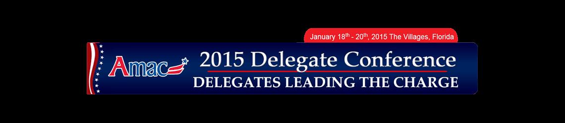 2015 AMAC Delegate Conference