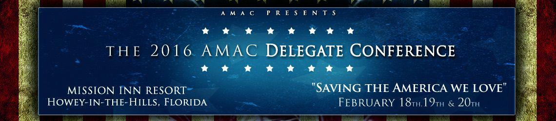 2016 AMAC Delegate Conference